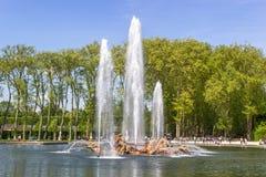 Apollo Fountain, Versailles, Frankreich Lizenzfreie Stockfotografie
