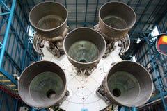 Apollo Fusée Saturn v Photographie stock libre de droits