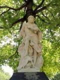 Apollo, god of sun, art and archeri. Sculpture of Apollo, greek god of sun, art and archeri Stock Photo