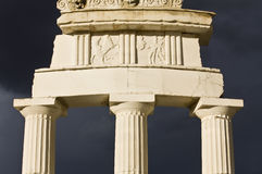 apollo greece tempel Royaltyfria Foton