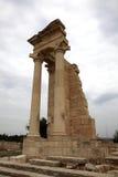 Apollo Hylates dichtbij Kourion Cyprus. Stock Afbeeldingen