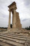 Apollo Hylates dichtbij Kourion Cyprus. Stock Foto