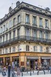Apollo kawiarnia w bordach arony Francja Fotografia Royalty Free