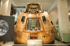 Apollo 10 kommandoenhet i Londons vetenskap Royaltyfri Fotografi