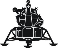Apollo Lunar Module royalty-vrije illustratie