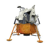 Apollo Lunar Module. Isolated on white background. 3D render Royalty Free Stock Photos