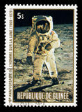 Apollo 11 månelandning Arkivbilder