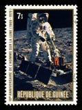 Apollo 11 Maan het Landen Stock Afbeeldingen