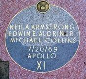 Apollo 11 misja Zdjęcia Stock