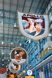 Apollo Mission Badges, Cape Canaveral, Florida Royalty Free Stock Photo