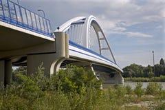 apollo nowy bridżowy Bratislava Obrazy Royalty Free