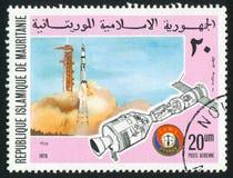 Apollo rakiety wodowanie zdjęcie royalty free