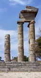 2 apollo s tempel Royaltyfria Bilder