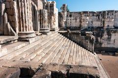 2 apollo s tempel Arkivbild