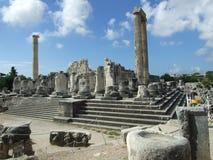 2 apollo s tempel Arkivfoto