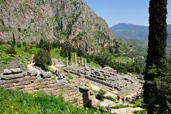2 apollo s tempel royaltyfria foton