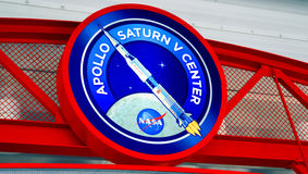 Apollo Saturn V Center at Kennedy Space Centre Royalty Free Stock Image