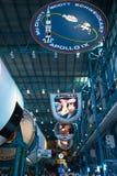 Apollo, Saturn V Centrum teren/, centrum lotów kosmicznych imienia johna f. kennedyego Obrazy Stock