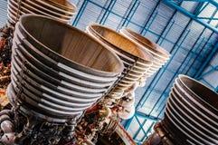 Apollo Saturn V raketfinjusterraket Royaltyfri Fotografi