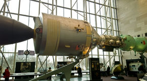 Apollo-Soyuz Test Project Stock Photo