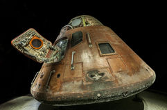 Apollo spacecraft. On display at Kennedy space museum Royalty Free Stock Photo