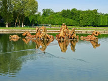 Apollo springbrunn på Versailles Royaltyfria Bilder