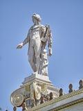 Apollo statue, the ancient god of fine arts statue Stock Photo