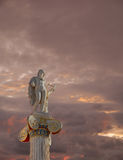 Apollo statue, the god of poetry and music Royalty Free Stock Image