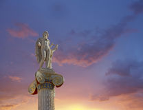 Apollo statue, the god of poetry and music Stock Photo