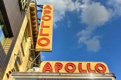Apollo teatr - Harlem, Nowy Jork Zdjęcia Royalty Free