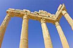 Apollo tempel Arkivbild