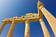Apollo tempel Arkivfoto