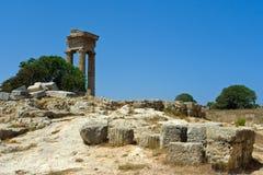 apollo tempel Royaltyfri Foto