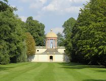 Apollo Temple. This building in an electoral park in Germany is over 250 years old Royalty Free Stock Photography