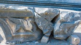 Apollo Temple bei Didyma in Didim, Aydin, die Türkei stockbilder