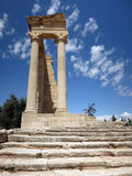 Apollo temple, Cyprus Stock Image