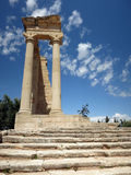 Apollo temple, Cyprus Royalty Free Stock Images