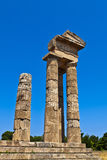 Apollo temple in Rhodes. Royalty Free Stock Photos