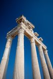 Apollo temple ruins Stock Photography