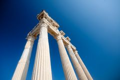 Apollo temple ruins Stock Image