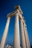 Apollo temple ruins Stock Images