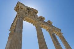 Apollo Temple Side 02 Lizenzfreies Stockfoto