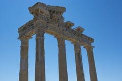 Apollo Temple Side 01 Stock Photos