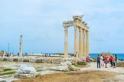 Apollo Temple in Side Stock Photo