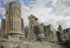 Apollo temple in Turkey Royalty Free Stock Photography