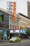 Apollo Theater histórico em Harlem, New York City Imagem de Stock