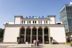 Apollo Theater i Siegen, Tyskland Arkivbild