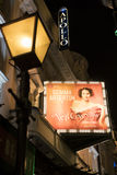 Apollo Theatre en la avenida Londres Reino Unido de Shaftesbury Foto de archivo libre de regalías