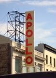 Apollo Theatre New York royaltyfria bilder