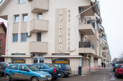 Apollo-Wohnsitzwohnblöcke Stockfotos